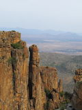 Valley of Desolation. The Valley of Desolation is a South African national monument that lies within the Camdeboo National Park stock image