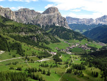 Valley in the Dolomites Royalty Free Stock Photos