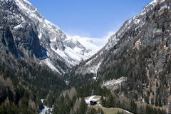 Valley Dorfer, East Tyrol, Austria Stock Photography