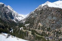 Valley Dorfer, East Tyrol, Austria Stock Photos