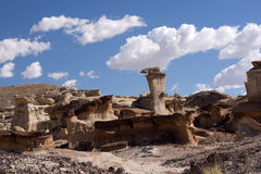 Valley of Dreams, New Mexico, USA Royalty Free Stock Photos