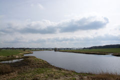 Valley of the Elbe, Germany Stock Photo