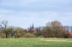 Valley of the Elbe, Germany Royalty Free Stock Photos