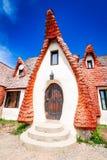 Clay Castle, Transylvania, Romania royalty free stock photos
