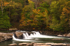 Valley Falls. During autumn in West Virginia Royalty Free Stock Image