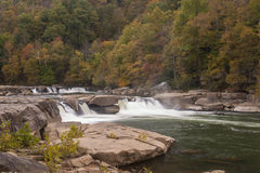 Valley Falls In Autumn Stock Photography