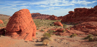 The Valley of Fire Royalty Free Stock Images