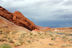 Valley of Fire. National Park Nevada Royalty Free Stock Photography