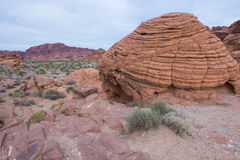The Valley of Fire Stock Photo