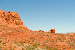 The Valley of Fire Royalty Free Stock Photography