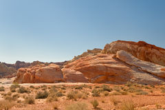 The Valley of Fire Royalty Free Stock Photo