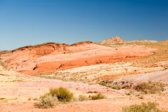 The Valley of Fire Stock Photos
