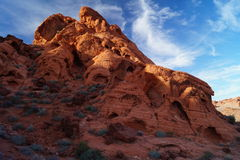 Cliffs in Valley of Fire. Nevada Royalty Free Stock Images