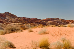 Valley of Fire desert Royalty Free Stock Photo