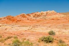 Valley of Fire desert  Stock Image