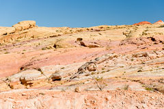 Valley of Fire desert America Stock Images