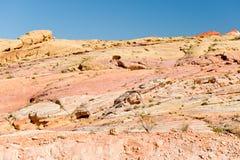 Valley of Fire desert America Stock Images