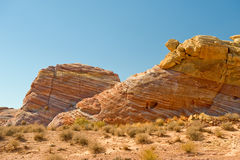 Valley of Fire desert Nevada Royalty Free Stock Image