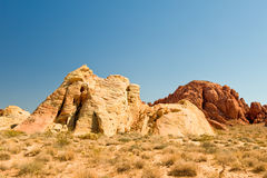 Valley of Fire desert scene Stock Photography