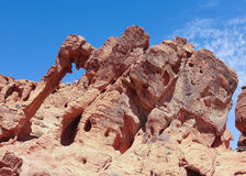 A Valley of Fire Elephant Rock View Royalty Free Stock Photo