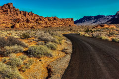 Valley of Fire: Highway Stock Photos