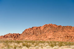Valley of Fire landscape Royalty Free Stock Photography