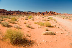 Valley of Fire Landscape Royalty Free Stock Photo
