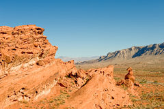 Valley of Fire landscape Stock Photography