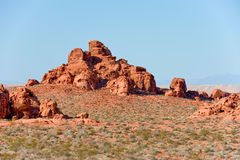 Valley of Fire landscape Stock Image
