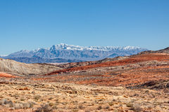 Valley of Fire Landscape Royalty Free Stock Image