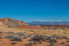 Valley of Fire Landscape Stock Photo