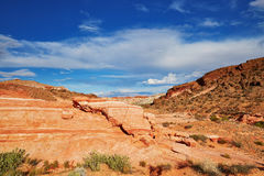 Valley of the Fire national park, Nevada, USA Royalty Free Stock Image