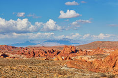 Valley of the Fire national park, Nevada, USA Royalty Free Stock Photo