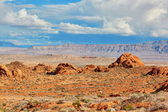 Valley of the Fire national park, Nevada, USA Stock Photo