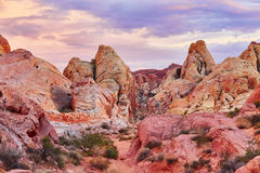 Valley of the Fire national park in Nevada, USA Stock Photo