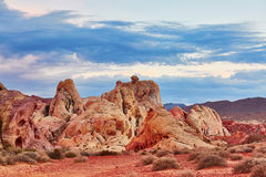 Valley of the Fire national park in Nevada, USA Stock Image