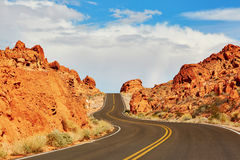 Valley of the Fire national park in Nevada, USA Royalty Free Stock Image