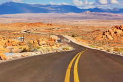 Valley of the Fire national park in Nevada, USA Stock Images