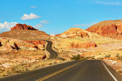Valley of the Fire national park in Nevada, USA Royalty Free Stock Photos