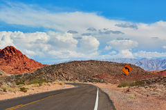 Valley of the Fire national park, Nevada, USA Stock Images