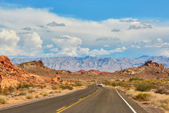 Valley of the Fire national park, Nevada, USA Stock Photography
