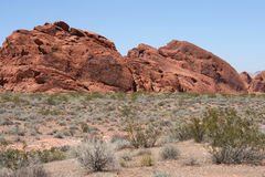 Valley of Fire, Nevada Stock Photo