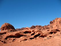 Valley of Fire Nevada Royalty Free Stock Image