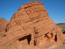 Valley of Fire, Nevada, Beehive. Rock Formation Stock Image