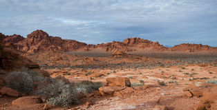Valley of fire, Nevada Stock Photography