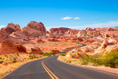 Valley of Fire Nevada Stock Image
