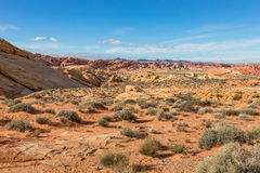 Valley of Fire Nevada Scenic Beauty Stock Images
