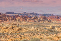 Valley of Fire Nevada Scenic Landscape Royalty Free Stock Photo
