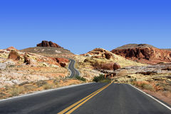 Valley of Fire Nevada State Park Royalty Free Stock Photography
