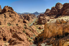 Valley of fire, nv Royalty Free Stock Image